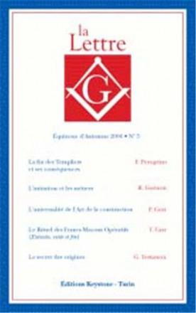 La lettre G équinoxe d'automne 2006 n° 5