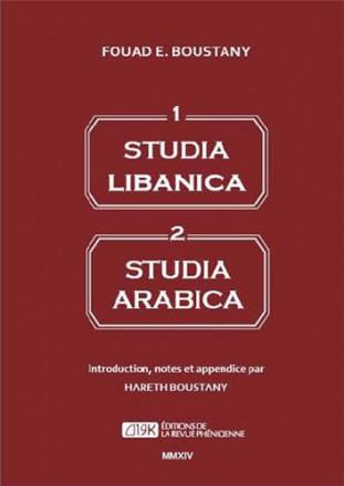 Studia Libanica studia arabica