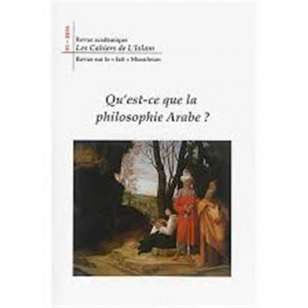 Revue academique : les cahiers de l'islam, n 1: qu'est ce que la philosophie arabe ?