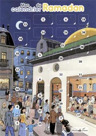 Mon calendrier du ramadan : en attendant l'aïd