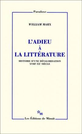 L'adieu à la littérature