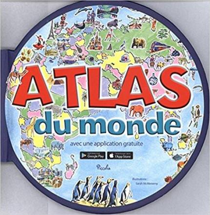 Atlas du monde/avec application gratuite