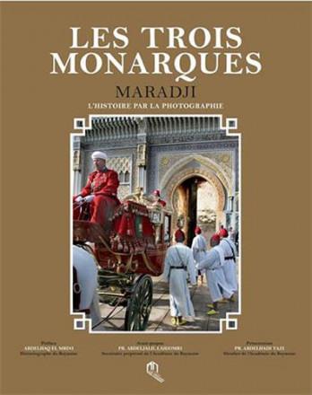 Les trois monarques, l'histoire par la photographie