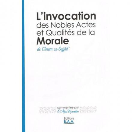 Invocation des nobles actes et qualités de la morale