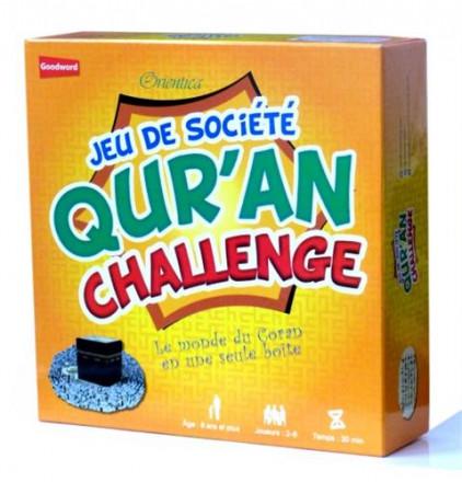 Jeu de société : Quran challenge le monde du coran en une seule boite