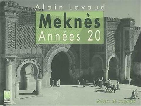 Meknès les années 20