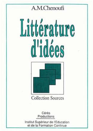 littérature d'idées