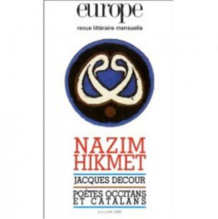Europe N° 878 879 Juin Juillet 2002 : Nâzim Hikmet