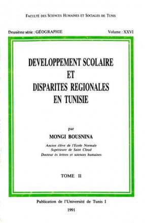 Développement scolaire et disparités régionales en Tunisie