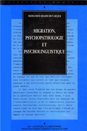 Migration, psychopathologie et psycholinguistique