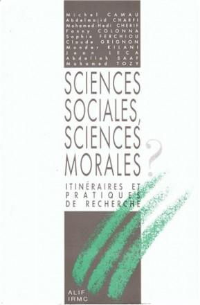 Sciences sociales, sciences morales