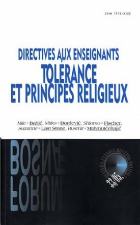 Directives aux enseignants: tolérance et principes religieux
