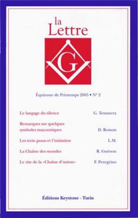 La lettre G équinoxe de printemps 2005 n° 2
