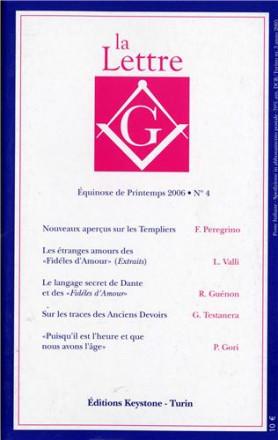 La lettre G équinoxe de printemps 2006 n° 4