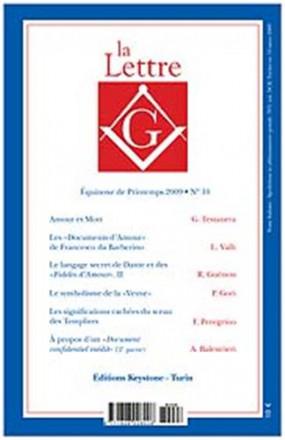 La lettre G équinoxe d'automne 2008 n° 9