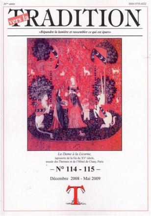 Vers la tradition n° 114 115 décembre 2008 mai 2009