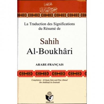 La traduction des significations du résumé de sahih al Boukhari (arabe français)