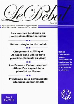 Revue le Débat n°4 eté 2010