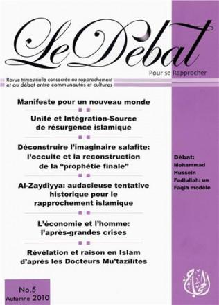Revue le Débat n°5 automne 2010