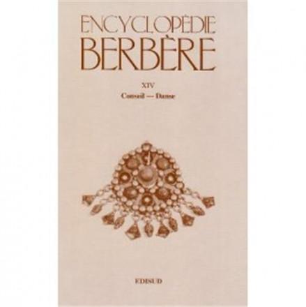 Encyclopédie berbère tome 14 Conseil Danse