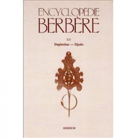 Encyclopédie berbère tome 15 Daphnitae Djado