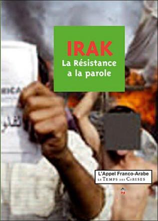 Irak, la résistance à la parole