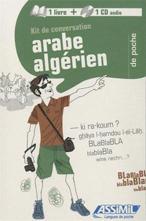 Kit conv arabe algérien Livre avec CD
